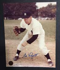 ED LOPAT New York Yankees Signed 8x10 Photo Cbm Holo Coa Mint 10 Autograph
