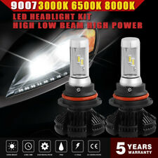 Blue White Golden 9007 Hb5 Led Headlight Hi-Low 1000W 150000Lm 6000K Bulbs Clear(Fits: Neon)