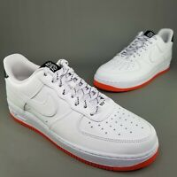 Nike Air Force 1 Low NY vs NY Athletic Shoes Mens Size 11 White Orange Black