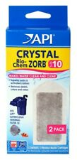 (3 Pack) API Crystal Bio-Chem Zorb 2 count size 10 | Clean Clear Aquarium Water