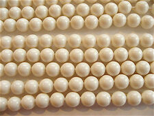 25 Ivory Swarovski Beads Pearls 5810 6mm