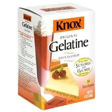 Knox Unflavored Gelatin 32 envelopes 8 oz