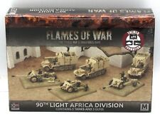 Flames of War GBX104 90th Light African Division (German) WWII Themed Formation