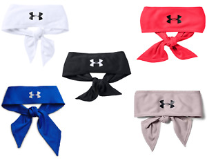 "Under Armour Head Tie Hair Bandana Headband Tennis or Others UA (3"" Width)"