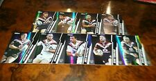 2015 NRL ESP TRADERS NEW ZEALAND WARRIORS SPECIAL PARALLEL TEAM SET 9 CARDS