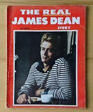 THE REAL JAMES DEAN STORY 1956 VERY RARE MAGAZINE FAWCETT PUBLICATION NEW YORK