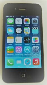 Apple iPhone 4 - 16GB - Black (EE) A1332 (GSM) Mobile Smartphone