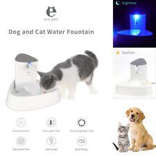 1.8L Automatic Electric Pet Water Fountain Drinking Bowl Dispenser for Dog Cat