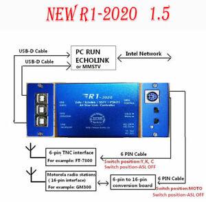 NEW R1-2020 Zello EchoLink SSTV PSK31 AllStarLink Radio-Network link Controller