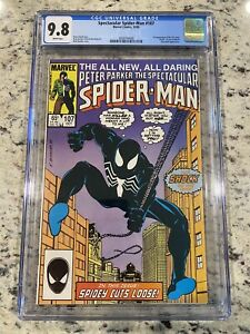 Spectacular Spider-Man 107 CGC 9.8 1st Apprarance Of The Sin Eater Black Suit