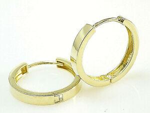 585 Gold Klappcreolen Grösse 16,5 x 2,7 mm 1 Paar