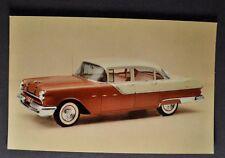1955 Pontiac Star Chief 4-Door Sedan Postcard Brochure Excellent Original 55