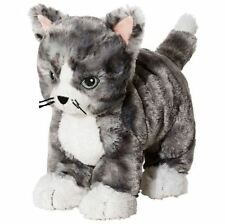 IKEA Kitty Cat Plush Stuffed Animal Soft Toy Gray White Tabby Lilleplutt **GIFT*