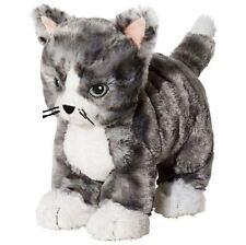 IKEA Kitty Cat  Plush Stuffed Animal Soft Toy Gray White Tabby Lilleplutt NEW!