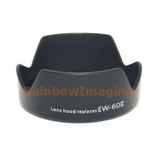 "Bayonet Lens Hood for Canon EF 24mm F2.8 Lens replaces EW-60II ""US Seller"""