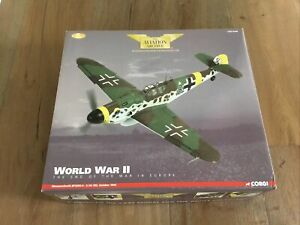 Corgi AA34905 German Camo Messerschmitt Me-109 Bf109G-6 October 1944 1/32 New