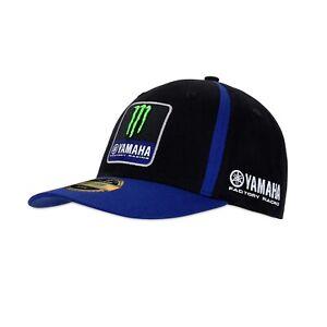 Cap Replica Monster Energy Yamaha Team 2021 Snapback blue black MotoGP Kappe