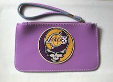 Grateful Dead Steal Your Face Lakers Clutch Handbag