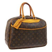 LOUIS VUITTON DEAUVILLE BUSINESS HAND BAG PURSE MONOGRAM M47270 MB1010 A52527