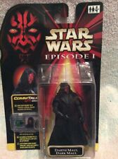 STAR WARS Darth Maul Tatooine Episode 1 action figure COMM Tech MOC mint sealed