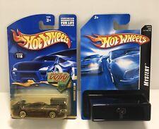 Lot Of 2 Hot Wheels Collector #118 Mercedes CLK-LM PLUS Bonus Mystery Car! NOS