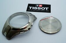 Tissot Watch Case - Titanium Chronograph T775 - NOS - 41mm