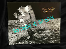 """Edgar """" Ed """" Mitchell Apollo 14 Signed Photo with a Photo Coa of Him From 2000"""