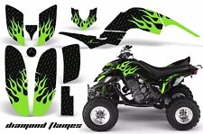 AMR Racing Yamaha Raptor660 Graphic Kit Wrap Quad Decals ATV 2001-2005 DFLAME G