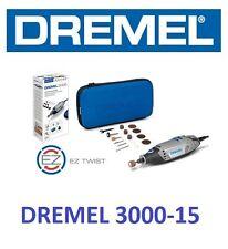 MULTIHERRAMIENTA DREMEL 3000-15 + ACCE+MALETIN F0133000JC MINI TALADRO LIJADORA