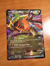 PL Pokemon GIRATINA EX card DRAGONS EXALTED Set 92/124 Black and White BW Rare