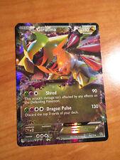 NM Pokemon GIRATINA EX card DRAGONS EXALTED Set 92/124 Black and White BW Rare