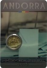 ANDORRA 2 Euro 2015 - Rights to the Men and Women - BU Quality