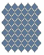 Moroccan Wall Stencil Pattern Classic Home Decor Art New
