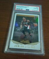 2016 Panini Studio Damian Lillard PSA 10 Trailblazers Investment GEM MT