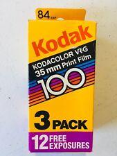 Kodak Kodacolor 35 mm VR-G 100 Print Film (84 Exposures) Color 04/1989 - NEW NIB