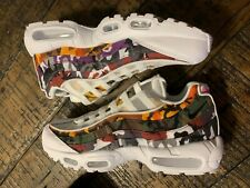 Nike Air Max 95 ERDL Party Mens Multi Color Shoes AR4473-100 Sz 8 No Box Top