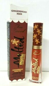 Too Faced MELTED Matte Limited Edition GINGERBREAD MAN SCENTED Liquid Lipstick