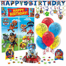 Paw Patrol Premium Birthday Party Pack Decoration Kit Childrens