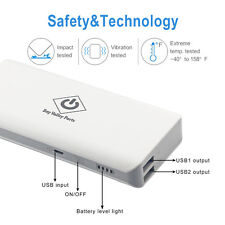 10000mAh Power Bank Dual USB Portable External Battery Charger For Mobile Phone