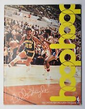 Hoop NBA Magazine 01/11/1980 Chicago Bulls vs Indiana Pacers