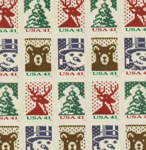 #4207-10 41 cent 2006 Christmas Knits Holidays Greeting Mint NH OG