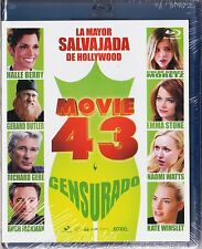 MOVIE 43. película d sketches cómicos  BLU-RAY Tarifa plana en envío España 5 €
