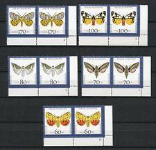 BUND Nr.1602-1606 ** ECKRANDPAAR rechts unten FORMNUMMER !!! (128584)