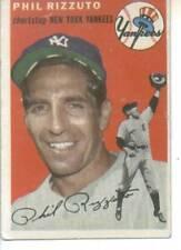 1954 Topps Phil Rizzuto New York Yankees EX +  # 17