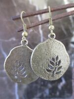 Wicca Beautiful Bronze Tree of Life Artisan Handcrafted Earrings-Goddess