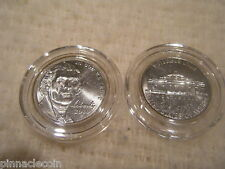 10 AIRTITE COIN HOLDER CAPSULES FOR US NICKEL, 21mm