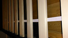 Solid Wood Bed Slats For Replacement King Size 5FT - 2 x 76cm