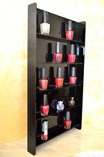 Nail Polish Mini Bottles Seed Box Collector Wall Shelf Rack Hanging Display Case