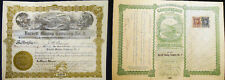 1916 Barnett Mining Company No. 2 Missouri Stock Certificate With Revenue Stamps