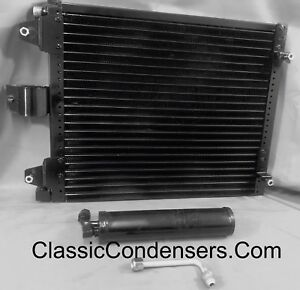 64 65 66 Ford Mustang Condenser Serpentine AC5090S KIT C6OZ19712A 2X PERFORMANCE
